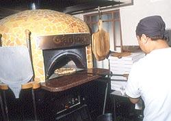 ピザ窯導入事例